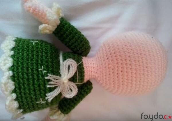 Amigurumi Bebek Gövdesi : Kolay amigurumi bebek yapımı